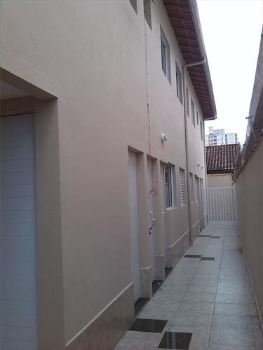 ref.: 71901 - casa condomínio fechado em praia grande, no bairro tupi - 2 dormitórios