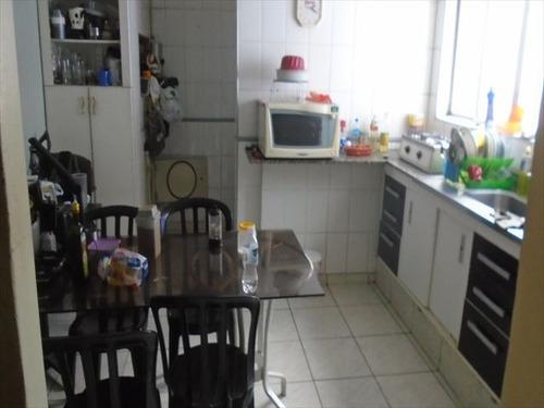 ref.: 7224 - apartamento em santos, no bairro aparecida - 3 dormitórios