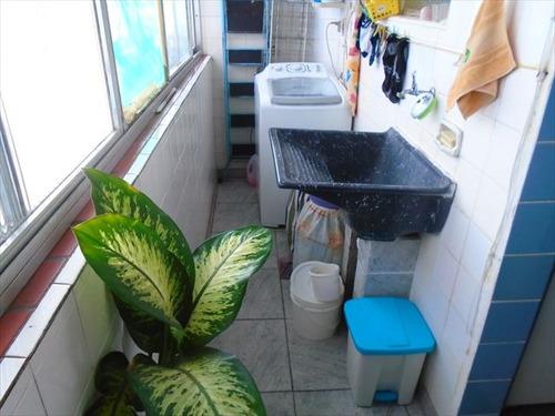 ref.: 7256 - apartamento em santos, no bairro encruzilhada - 3 dormitórios