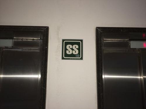 ref.: 7284 - apartamento em santos, no bairro ponta da praia - 1 dormitórios