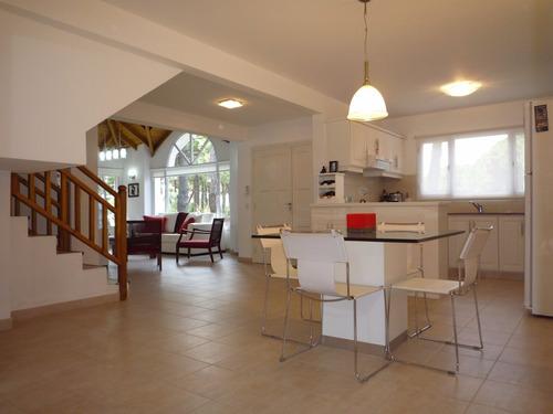 ref: 729 - casa en alquiler, pinamar, zona norte tennis