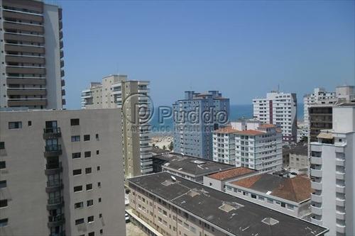 ref.: 730 - apartamento em praia grande, no bairro forte - 2 dormitórios