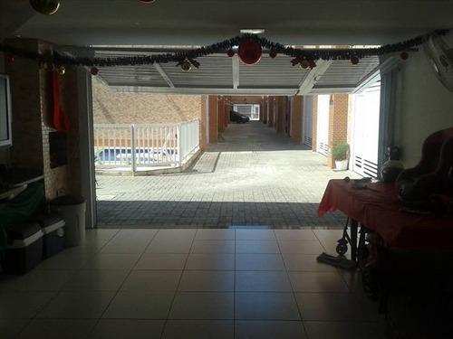 ref.: 7306 - casa condomínio fechado em santos, no bairro vila matias - 2 dormitórios