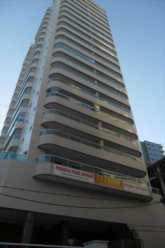 ref.: 732 - apartamento em praia grande, no bairro forte - 2 dormitórios