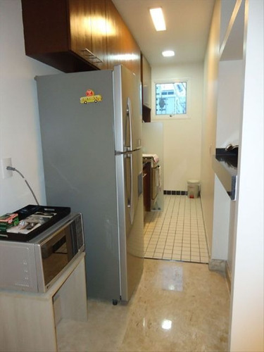 ref.: 7324 - apartamento em santos, no bairro gonzaga - 2 dormitórios
