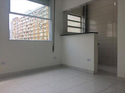 ref.: 7333 - apartamento em santos, no bairro embare - 1 dormitórios