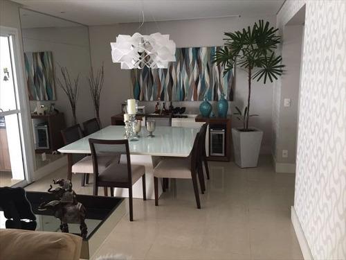 ref.: 7335 - apartamento em santos, no bairro ponta da praia - 3 dormitórios