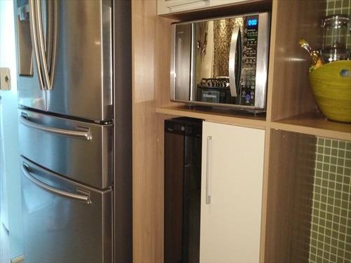 ref.: 7355 - apartamento em santos, no bairro boqueirao - 4 dormitórios