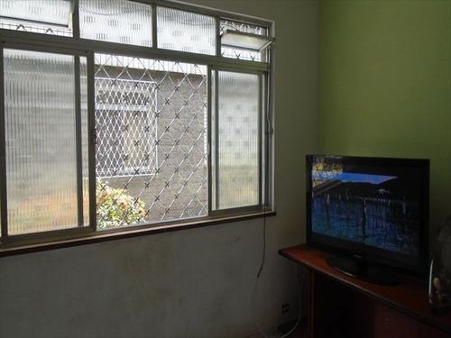 ref.: 7365 - apartamento em santos, no bairro boqueirao - 2 dormitórios