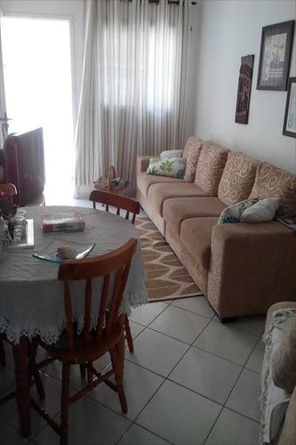 ref.: 738 - casa condomínio fechado em praia grande, no bairro vila sônia - 2 dormitórios