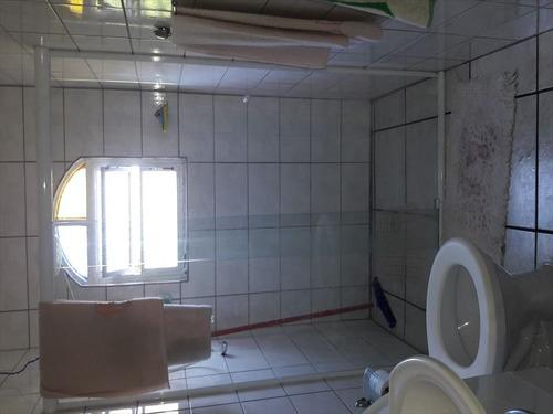 ref.: 740 - casa em mongaguá, no bairro santa eugenia - 2 dormitórios