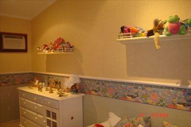 ref.: 74600 - casa condomínio fechado em santos, no bairro santa terezinha - 4 dormitórios