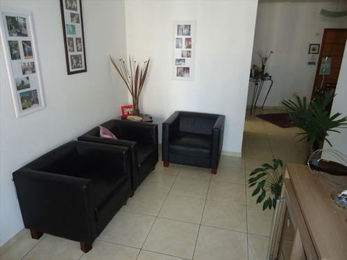 ref.: 75 - apartamento em praia grande, no bairro tupi - 2 dormitórios