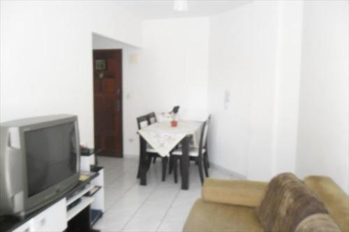 ref.: 754 - apartamento em praia grande, no bairro forte - 1 dormitórios