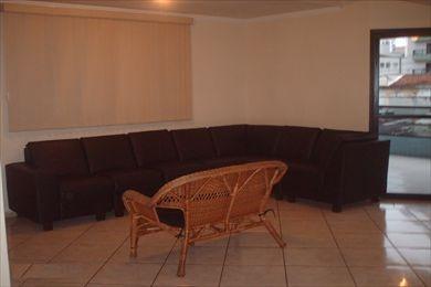 ref.: 754400 - apartamento em praia grande, no bairro vila guilhermina - 2 dormitórios