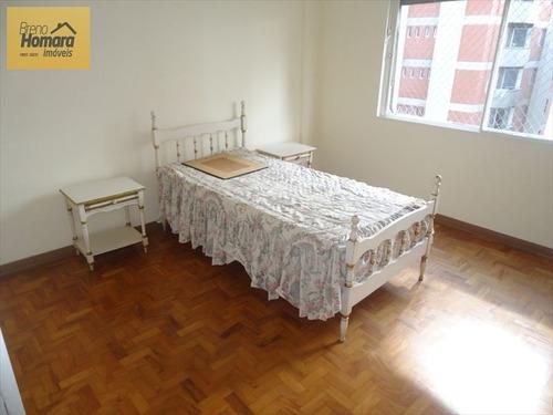 ref.: 7573 - apartamento em sao paulo, no bairro higienópolis - 2 dormitórios