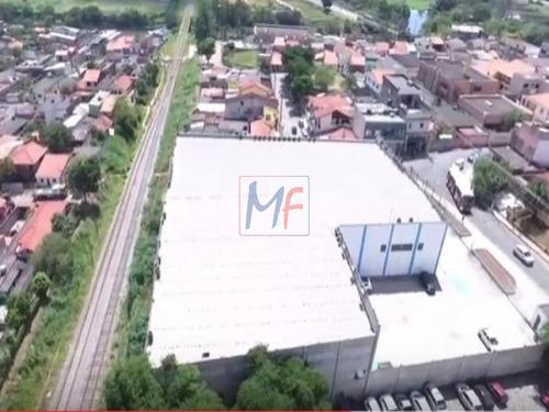 ref 7711 -  galpão com 3.500 m² de terreno sendo 5.850 m2 a.útil - itaquá. - 7711