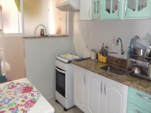 ref.: 77301 - apartamento em praia grande, no bairro boqueirao - 2 dormitórios