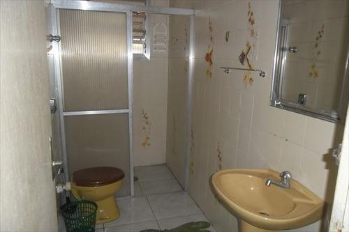 ref.: 775 - casa em praia grande, no bairro guilhermina - 2 dormitórios