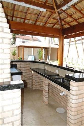 ref.: 777 - casa em praia grande, no bairro guilhermina - 4 dormitórios