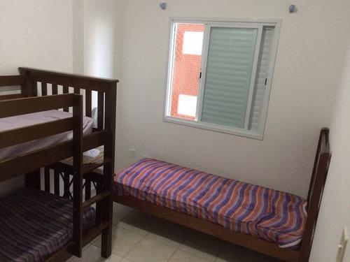 ref.: 779 - apartamento em praia grande, no bairro caicara - 2 dormitórios