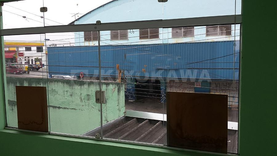 ref. 7817 - salão comercial com residência no mogi moderno - sl0001