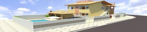ref.: 79 - casa em itanhaem, no bairro cibratel - 3 dormitórios