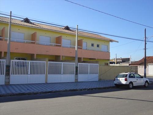 ref.: 793600 - casa em praia grande, no bairro tude bastos (sitio do campo) - 2 dormitórios
