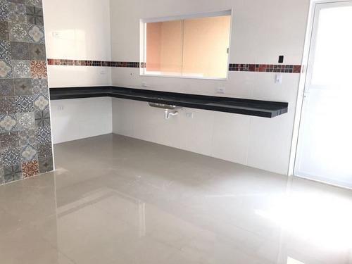 ref.: 799 - casa condomínio fechado em praia grande, no bairro maracana - 3 dormitórios