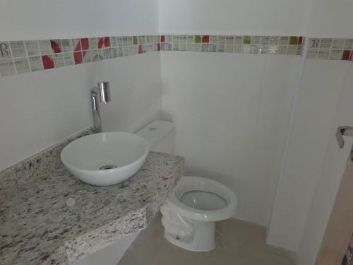 ref.: 800 - casa condomínio fechado em praia grande, no bairro maracana - 2 dormitórios