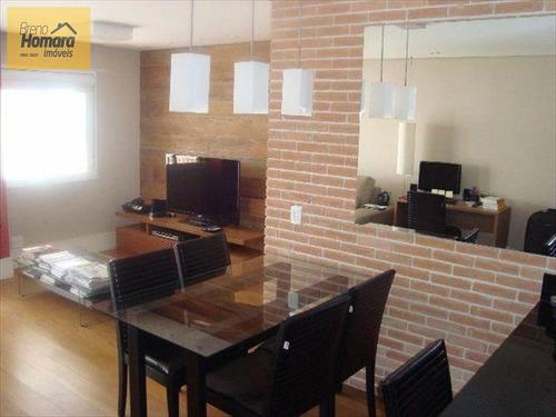 ref.: 8000 - apartamento em sao paulo, no bairro santa cecilia - 3 dormitórios