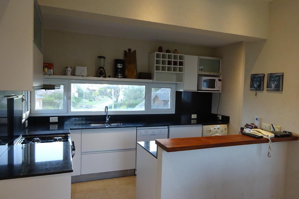 ref: 8017 - casa en alquiler - pinamar, zona lasalle