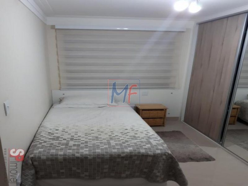 ref 8061 - lindo apto 3 dormitórios( 2 suítes) e 1 vaga - pq da mooca. - 8061