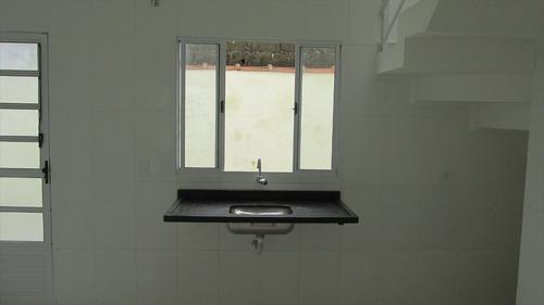 ref.: 81 - casa condomínio fechado em itanhaém, no bairro bopiranga - 2 dormitórios