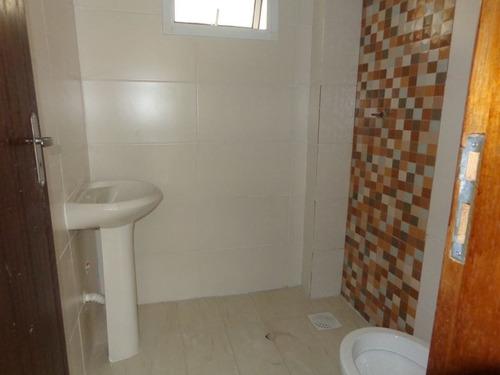 ref.: 811 - casa condomínio fechado em praia grande, no bairro samambaia - 2 dormitórios