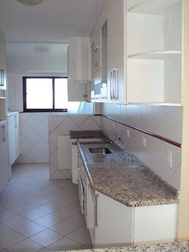 ref.: 813 - apartamento em praia grande, no bairro canto do
