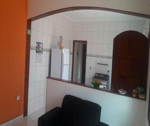 ref.: 814 - casa em mongaguá, no bairro vila seabra - 2 dormitórios