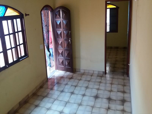 ref.: 816 - casa em mongaguá, no bairro itaoca - 2 dormitórios