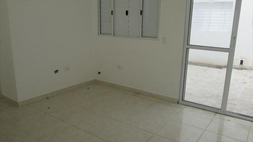 ref.: 82 - casa condomínio fechado em itanhaém, no bairro bopiranga - 2 dormitórios