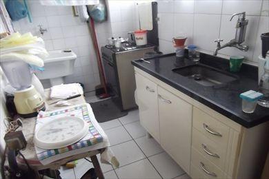 ref.: 825000 - apartamento em santos, no bairro gonzaga - 1 dormitórios