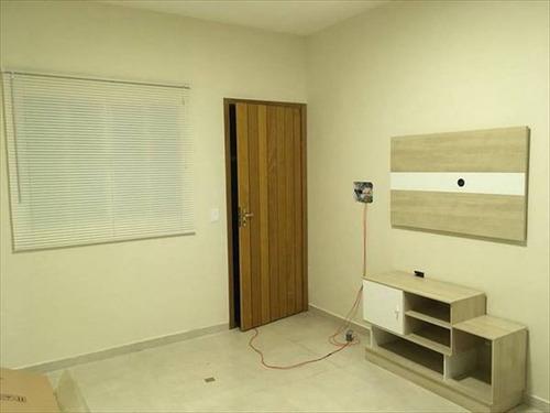 ref.: 827 - casa condomínio fechado em praia grande, no bairro cidade da crianca - 2 dormitórios