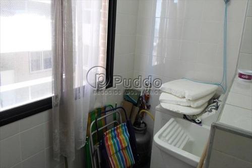 ref.: 830 - apartamento em praia grande, no bairro forte - 2 dormitórios