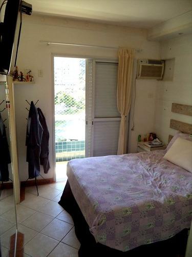 ref.: 840 - apartamento em praia grande, no bairro canto do forte - 2 dormitórios