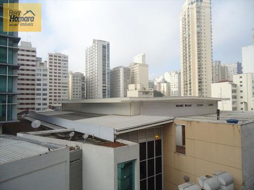 ref.: 8434 - apartamento em sao paulo, no bairro higienópolis - 1 dormitórios