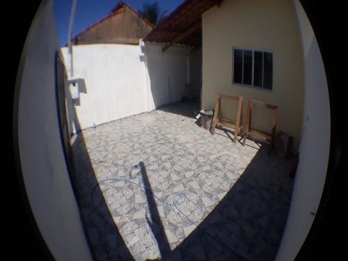 ref.: 844 - casa em mongaguá, no bairro santa eugenia - 2 dormitórios