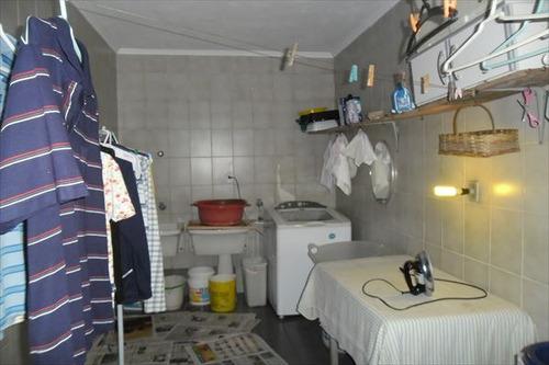 ref.: 845 - casa em praia grande, no bairro forte - 3 dormitórios