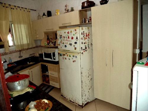 ref.: 846 - casa em praia grande, no bairro tupi - 2 dormitórios