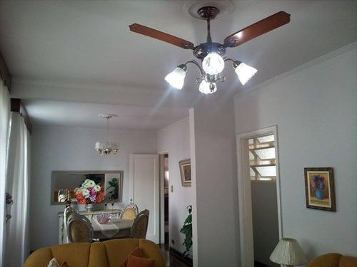 ref.: 848 - apartamento em santos, no bairro gonzaga - 2 dormitórios