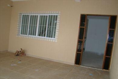 ref.: 86200 - casa em praia grande, no bairro vila guilhermina - 2 dormitórios