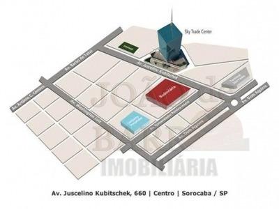 ref.: 87 - sala comercial em sorocaba para aluguel - l87
